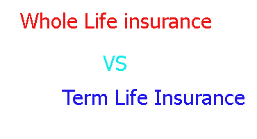 what s the difference between term and whole life insurance